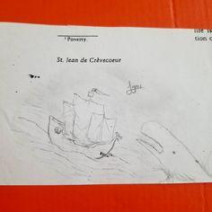 Ship vs. Whale! Oldie from high school. #art #artist #artwork #illustration #cartoon #comicart #drawing #doodle #sketch #sketchbook #wip #workinprogress #characterdesign #ocean #whale #scifi #scifiart #anime #manga