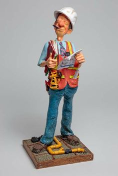Guillermo Forchino The Supervisor - Le Contremaitre - Comical Art Figurines, Sculptures