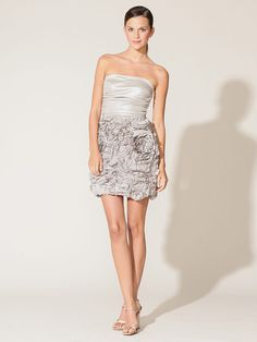Mark + James  Lame Ruffle Strapless Dress  Waah! was on sale for only $89 but sold out