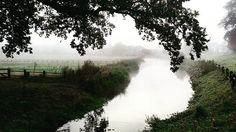 Misty morning in Arnhem today @ park Sonsbeek.