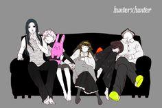 Illumi Zoldyck ~ HunterXHunter ~ Hunter x Hunter ~ HxH ~ Zoldyck Family ~ Anime ~ Killua ~ Kalluto ~ Milluki ~ Alluka