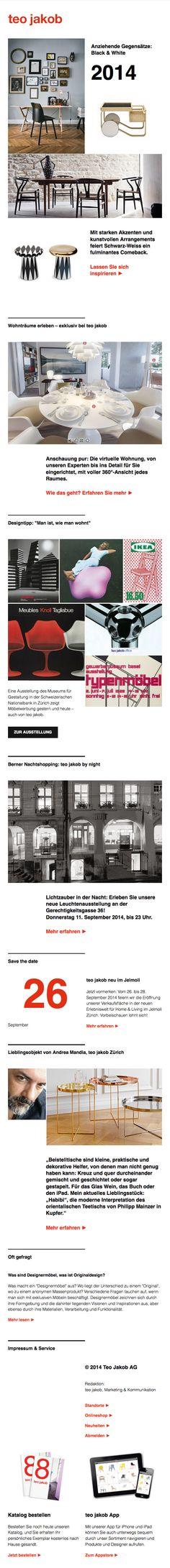teo jakob Newsletter Design by nemuk