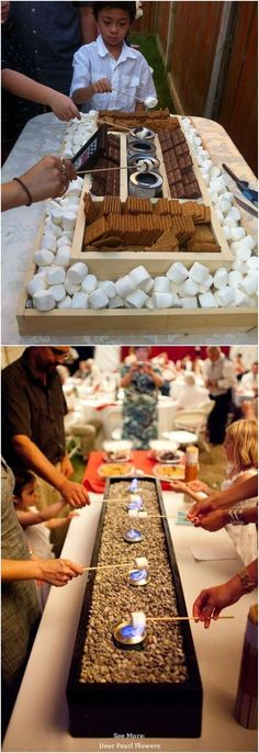 Top 25 Rustic Barbecue BBQ Wedding Ideas / http://www.deerpearlflowers.com/barbecue-bbq-wedding-ideas/ #weddingideas