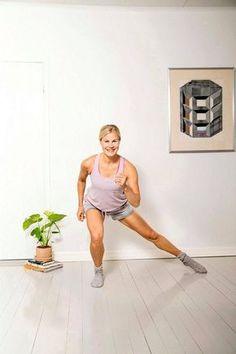 Sykkeet nousevat ja rasva palaa lyhyelläkin setillä. Hiit, Maternity, Health Fitness, Sporty, Workout, Style, Bye Bye, Gym, Fashion