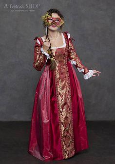 Renaissance wine color dress. Italian fashion early 16th century women  dress. Lucrezia Borgia gown style. !!!ONLY TO ORDER 41de6209010