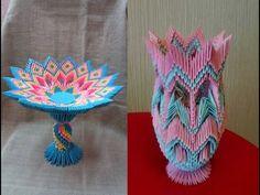 Paper Crafts Origami, Origami Art, 3d Paper, Oragami, 3d Origami Tutorial, Origami Modular, Origami Patterns, Dollar Origami, Origami Design