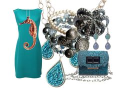 So Fashionable. And loving the Blue for Spring!