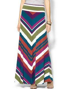 long knit maxi skirt - Google Search