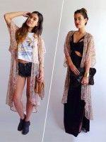 1 Kimono, 2 Rad Ways To Style It #refinery29