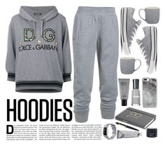 """Hoodies"" by marionmeyer on Polyvore featuring Dolce&Gabbana, Converse, Under Armour, Cartier, Casetify, MAKE UP FOR EVER, Bloomingville, Kahina Giving Beauty and Hoodies"
