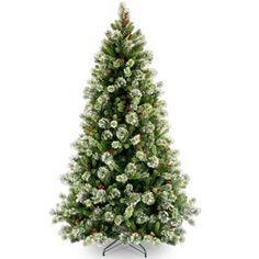 "National Tree Co. 7' 6"" Woodbury Pine Artificial Christmas Tree"