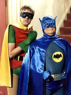 Duo: In one 1996 episode the pair dress up as Batman and Robin for a fancy-dress party, only to discover the party is a wake #OnlyFoolsAndHorses