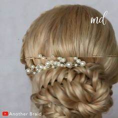 "Updo hairstyle 859976491331573241 - Believe me when I say, ""You can recreate these updos yourself!"" By: Braid # Braids videos frisuren EASY UPDO HAIRSTYLES Source by trlrha Easy Hairstyles For Long Hair, Braided Hairstyles, Easy Updos For Medium Hair, Messy Hairstyle, Hairstyle Wedding, Hairstyle Men, Hairstyles 2018, Latest Hairstyles, Hairstyle Ideas"