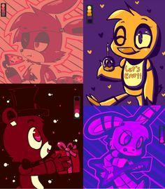 Palette Challenge (Five Nights at Freddy's) by PikachuFanz.deviantart.com on @deviantART