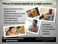 #UniteAgainstRape #SAAM2015  Men and boys are often the victims of the crimes of sexual assault, sexual abuse, and rape. In fact, in the U.S., about 10% of all victims are male.   Sexual assault is a very personal crime. Many survivors do not wish to share what happened to them publicly and fear that disclosing or reporting the attack may require them to talk publicly about their assault.  Male survivors may blame themselves for the assault, believing they were not 'strong enough' to…