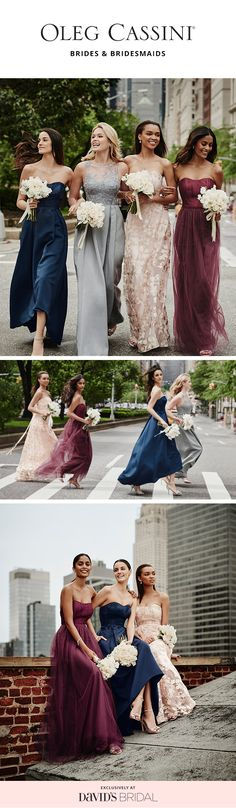 Elegant bridesmaid dresses, affordable prices. Shop the Oleg Cassini bridesmaid collection exclusively at David's Bridal.