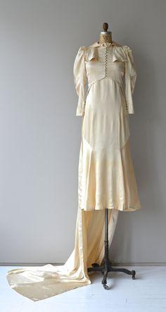 Osborne House Brautkleid Jahrgang der 1930er Jahre von DearGolden