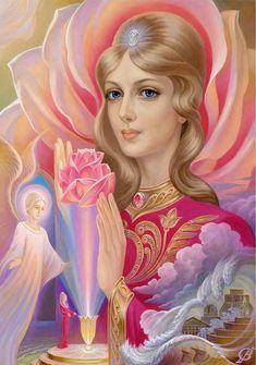 View album on Yandex. Catholic Archangels, Seven Archangels, Archangel Zadkiel, Esoteric Art, Ascended Masters, Goddess Art, Angel Pictures, Sacred Feminine, Angel Cards