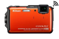 Nikon COOLPIX AW110 Wi-Fi and Waterproof Digital Camera with GPS (Orange) - http://allgoodies.net/nikon-coolpix-aw110-wi-fi-and-waterproof-digital-camera-with-gps-orange/