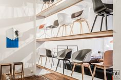 Binti Home Blog, Hay store Amsterdam, about a chair, danish design,