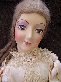 Vintage Boudoir Doll - Looks like an Anita Doll - Something to Sing About #dollshopsunited