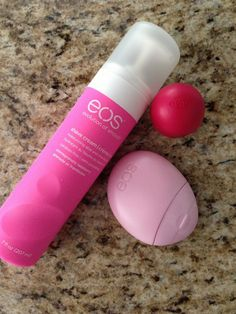 Eos hydrating products - $3.99 each! I'm obsessed! Must. Get. More.