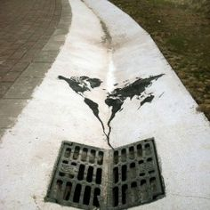 STREET ART UTOPIA »Declaramos al Mundo de Como nuestro de arte canvasStreet porción Nick Walker - En París, Francia» STREET ART UTOPIA