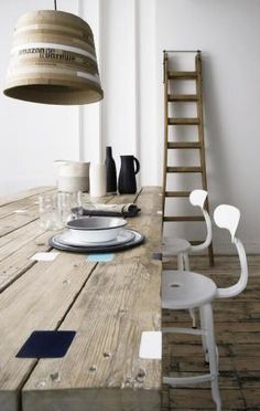 Rustic dining tables, Organic modern and Hairpin on Pinterest