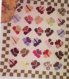Butterfly Quilt made by Tina Aguilar