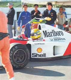 Ayrton Senna (McLaren-Honda) becomes World Champion for the third & final time. Police Cars, Race Cars, Formula 1, San Marino Grand Prix, Mclaren Mp4, F1 Drivers, Indy Cars, Honda, Monster Trucks