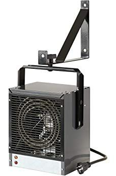 Dimplex Dgwh4031g Garage And Shop Large 4000 Watt Forced Air Industrial Space Heater In Gray Black Finish Workshop Heater Dimplex Garage Heater