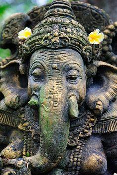 Ganesha Made of Stone, Bali Ganesha Painting, Buddha Painting, Ganesha Art, Ganesh Images, Ganesha Pictures, Buddha Buddhism, Buddha Art, Ganesh Lord, Shree Ganesh