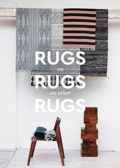 Layering rugs has been one the most popular home decor trends in 2017. Here's some visual inspiration to help you transform your room