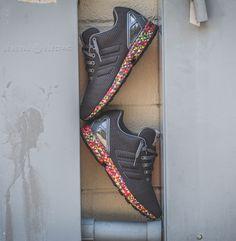 "adidas ZX Flux ""Multicolor Sole"" - EU Kicks: Sneaker Magazine"
