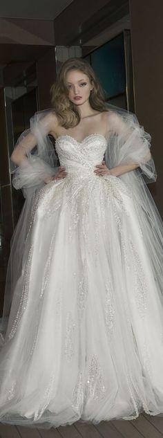 Dany Mizrachi 2016 sweetheart wedding dress / http://www.himisspuff.com/sweetheart-wedding-dresses/5/