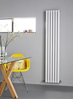 This Double Panel radiator from Premier is one of our newest range of modern heating. We sell this and a variety of other modern radiators in colours including white, anthracite and silver. Free up an entire wall! House Design, Room Design, Living Room Kitchen, Radiators Modern, Home, Radiators Living Room, Living Room Diy, Modern Farmhouse Kitchens, Living Room Designs