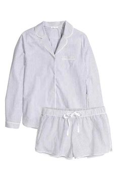 Pyjama avec chemise et short