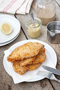 Ricetta Schnitzel di pollo come in Israele - Labna