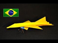 Leia a descrição. . Como fazer um avião super realista? Faça você mesmo um dos aviões de papel mais realistas de todos os tempos, o F16. Ajude com a divulgaç...