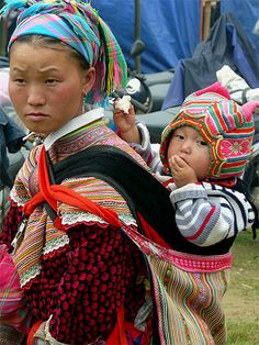 Hmong_Perfect blend of colorfull patterns.