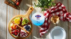 FAGE Total is a rich, creamy all-natural plain Greek yogurt made simply with milk and live active yogurt cultures in three milkfat varieties. Plain Greek Yogurt, Smoothies, Waffles, Food And Drink, Menu, Cooking, Breakfast, Recipes, Smoothie