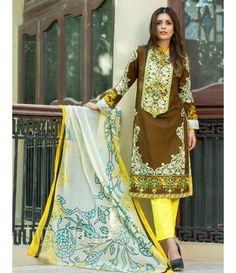Monsoon Festivana SS '16 Embroidered Collection by Al Zohaib AZ_7B