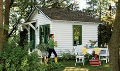 cottage, this is from a very modest cottage, she redid this cottage from a old camp from childhood!