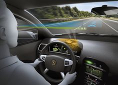 Continental Head-up Display Augmented Reality HUD