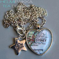 #karttakoru #Sydney tilaustyönä <3
