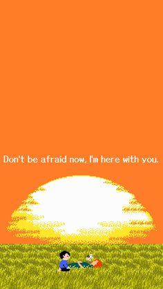 always and forever. Orange Wallpaper, Of Wallpaper, Wallpaper Quotes, Wallpaper Backgrounds, Quote Aesthetic, Aesthetic Anime, Vaporwave Wallpaper, Vaporwave Art, Sad Art