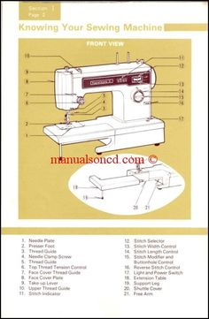 kenmore 158 220 model 22 sewing machine instruction manual sewing rh pinterest com kenmore sewing machine user manual kenmore sewing machine instruction manual
