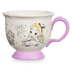 Disney Animators' Collection Teacup for Kids - Alice in Wonderland
