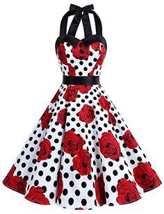 2017 New style Plus size Summer robe Vintage Dress Women pinup clothing Rockabilly Swing Dress Party Vestidos Femininos Vintage Dresses 50s, Retro Dress, 50s Vintage, Vintage Floral, Robe Swing, Swing Dress, Cheap Dresses, Prom Dresses, Summer Dresses