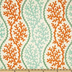 P Kaufmann Indoor/Outdoor Coral Splendor Coral- dining room chair fabric?  $11.03/yd until 8/5/13